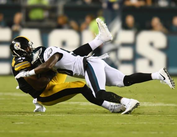NFL reportedly to discuss helmet-rule tweaks