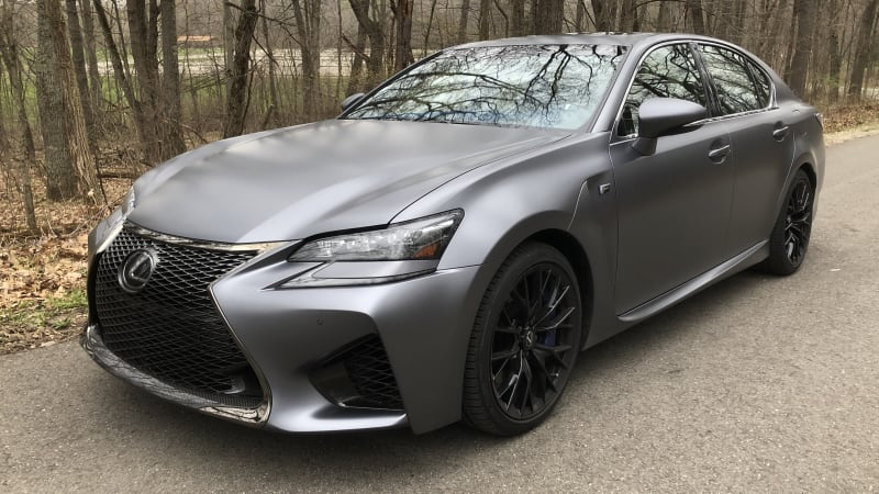 2019 Lexus GS F 10th Anniversary Edition review