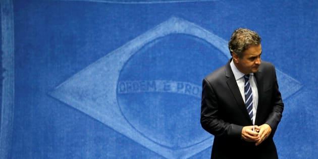 Aécio foi afastado do cargo de senador depois de aparecer em áudio no qualpede R$ 2 milhões aos donos da JBS.