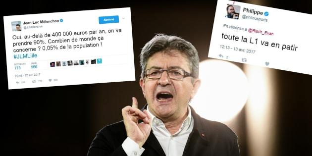 Le programme fiscal de Mélenchon doit être vu d'un drôle d'œil par le foot français...