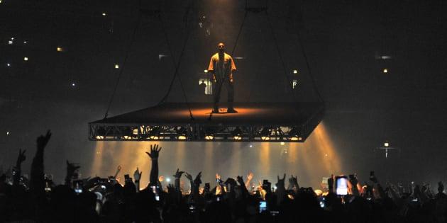 Kanye West le 7 octobre 2016 à Chicago
