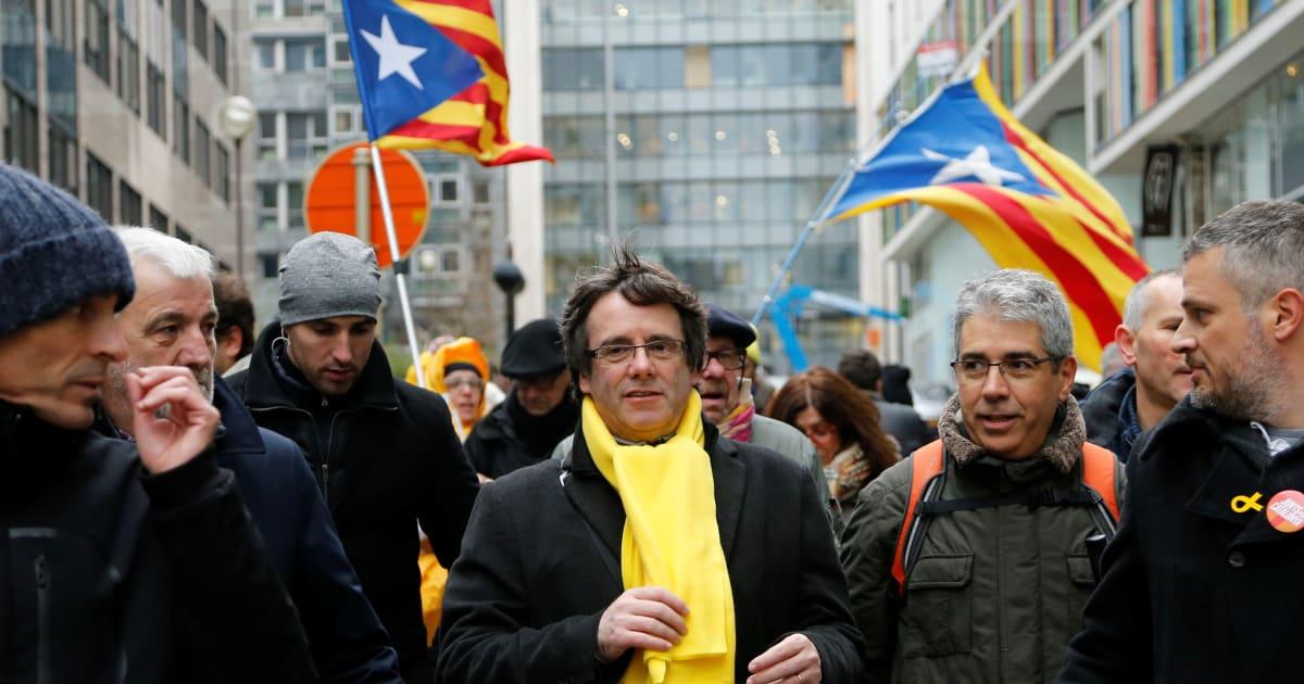 Catalogne: Depuis la Belgique ou la prison, la campagne atypique des indépendantistes