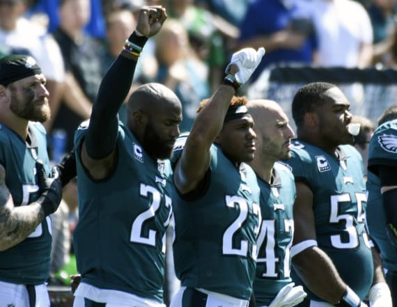 NFL players respond to Trump's pardon request