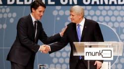 Hmm... Harper, Trudeau In Washington, D.C. For NAFTA