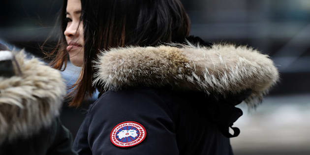 canada goose jacket in china