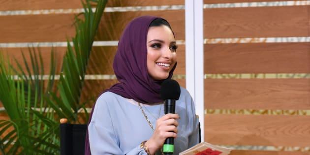 """Le magazine """"Vogue"""" présente ses excuses à la journaliste Noor Tagouri après s'être trompé sur son identité (Photo prise le 1er décembre 2018 à Los Angeles)."""