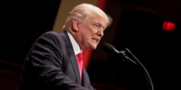 Donald Trump à Washington le 1er juillet 2017.