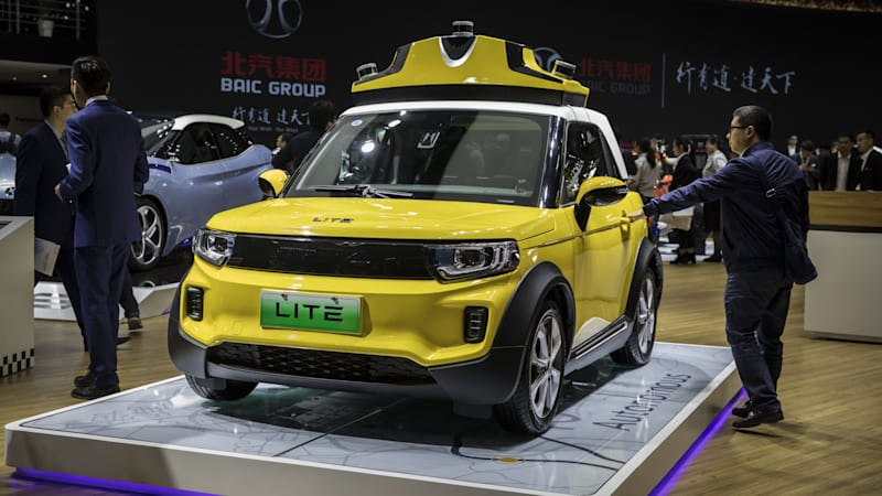 Canada's Magna partners with BAIC to make electric cars in China