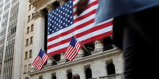 Des employés de Wall Street, le 15 septembre 2016. REUTERS/Brendan McDermid