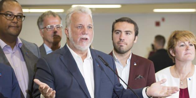 Philippe Couillard et les trois autres leaders des principaux partis politiques joueront gros lors du débat des chefs, jeudi.