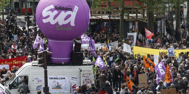 Fête du travail: 143.500 personnes ont manifesté en France selon les autorités, 210.000 selon la CGT