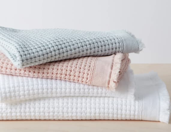 Allswell just launched a bedding and bath line