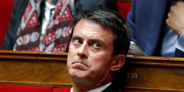 Manuel Valls à l'Assemblée national en juin 2017.