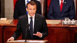 Emmanuel Macron Takes Aim At Trump On Climate Change In Congressional