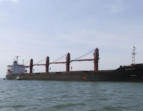 U.S. seizes North Korean cargo ship