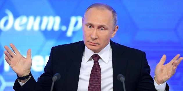 """Piratage russe: Finalement, Vladimir Poutine décide de n'""""expulser personne"""", après les sanctions américaines"""