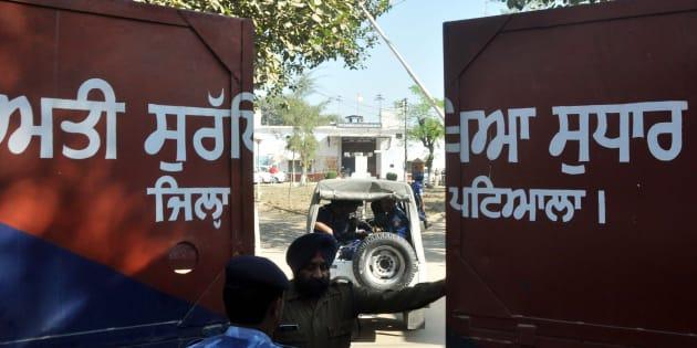 File photo of Nabha maximum-security jail.