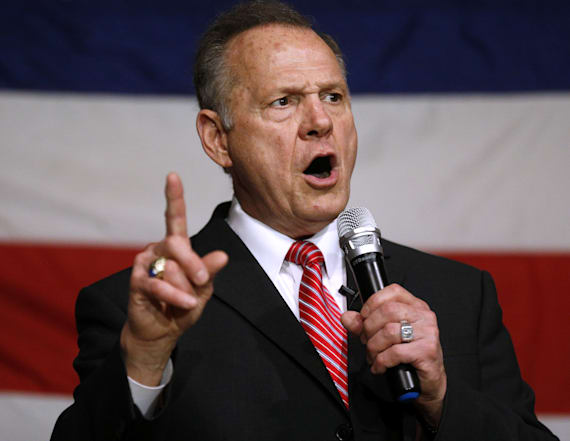 Roy Moore once called for eliminating 17 amendments