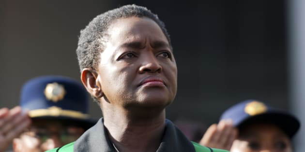 African National Congress Womens League (ANCWL) president Bathabile Dlamini.