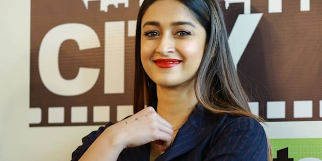 NEW DELHI, INDIA - MARCH 9: Bollywood actor Ileana D'Cruz at HT Office during promotions of the film Raid on March 9, 2018 in New Delhi, India. (Photo by Amal KS/Hindustan Times via Getty Images)