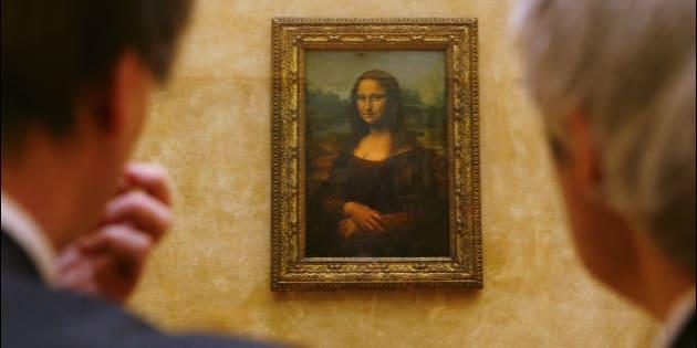 Obra-prima de Leonardo da Vinci, 'Monalisa' foi criada entre 1503 e 1506.