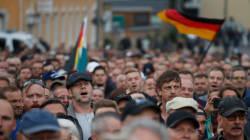La ultraderecha alemana vuelve a manifestarse contra Merkel y los