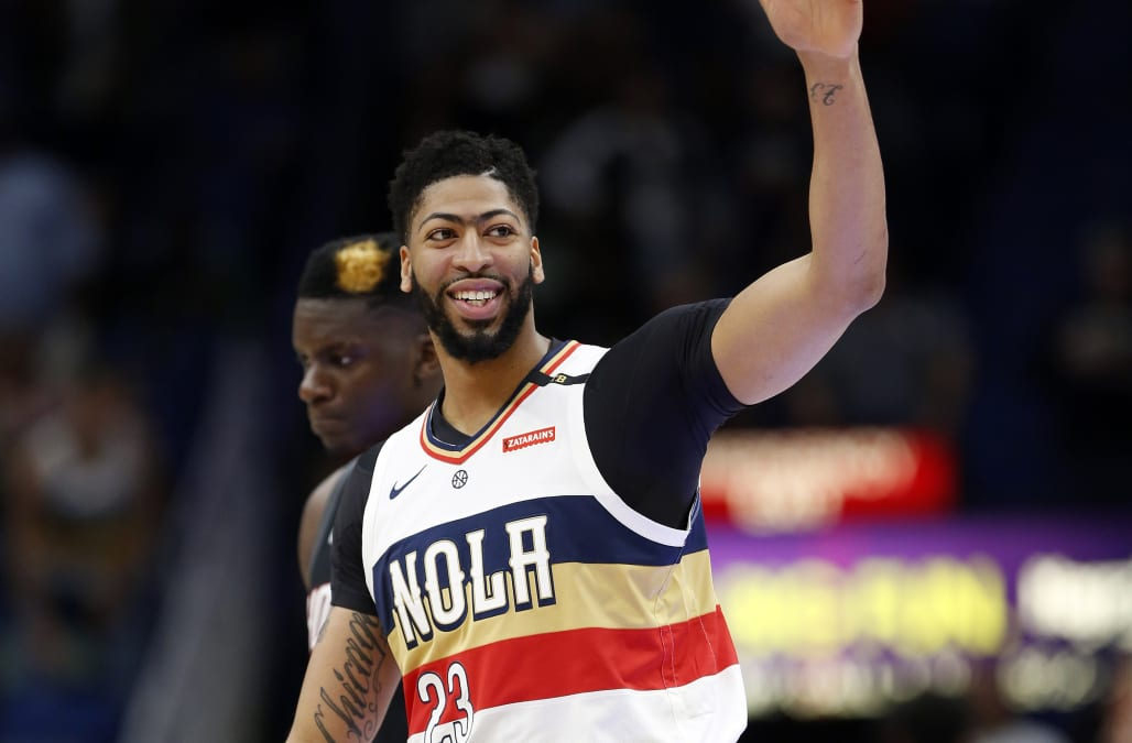 Anthony Davis traded to Lakers for haul of young players ...