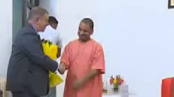 Israeli Envoy Meets Yogi Adityanath, Says Can Aid UP In Cleaning