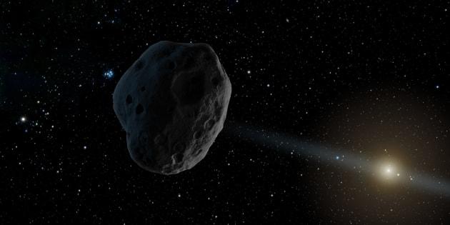 Un astéroïde venu d'un autre système solaire nous aurait rendu visite, du jamais vu