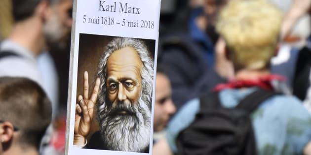 """Mesmo após 200 anos de seu nascimento, Marx continua a fazer """"barulho""""."""