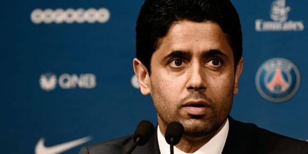 Nasser Al-Khelaïfi. Le PSG n'est pas encore tiré d'affaire sur le fair-play financier .