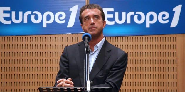 Avant la prise de pouvoir d'Arnaud Lagardère, la lente descente aux enfers d'Europe 1 AFP PHOTO JOEL SAGET / AFP PHOTO / JOEL SAGET