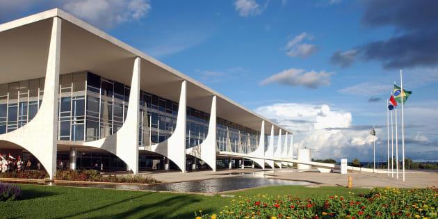 O Palácio do Planalto é a sede da Presidência da República.