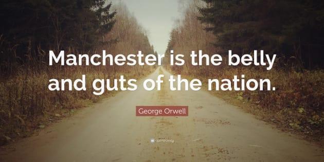 """Cette citation est extraite du livre de George Orwell, """"Le Quai de Wigan"""", publié en 1937."""