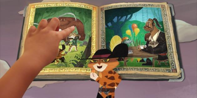 O Gato de Botas é o destaque da primeira animação interativa da Netflix disponível para crianças e adultos.