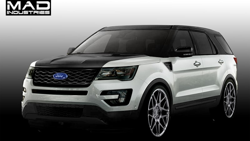 Ford Explorer goes sporty and spicy for SEMA - Autoblog
