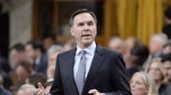 La mise à jour économique du gouvernement fédéral sera le 21