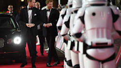 Even Droids Have To Bow To Prince William And Prince