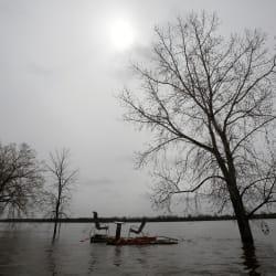 D'importantes crues des eaux au cours des prochains