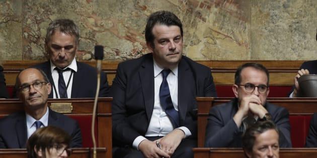 Thierry Solère à l'Assemblée nationale.