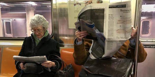ニューヨークの地下鉄(イメージ写真)