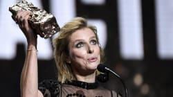 Karin Viard décroche le titre de meilleure actrice dans un second