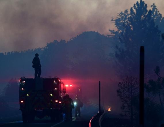 Crews make progress against L.A.-area wildfire