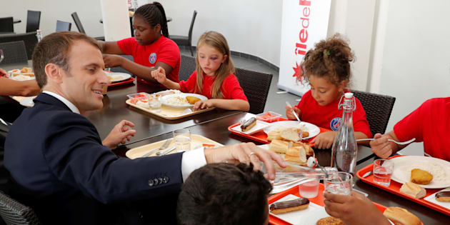 Macron lance sa stratégie de lutte contre la pauvreté des enfants