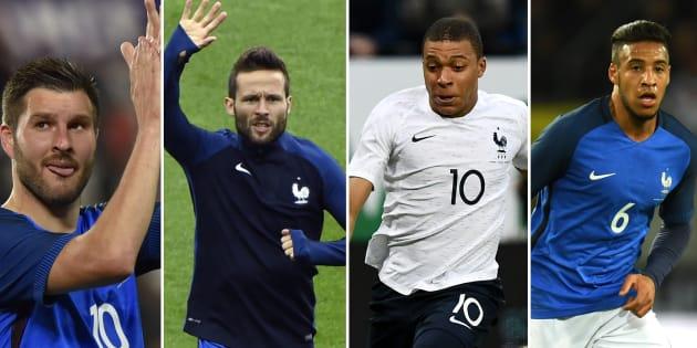 Liste de Didier Deschamps: onze joueurs de l'Euro ne verront pas la Russie, mais ceux qui arrivent sont là pour rester