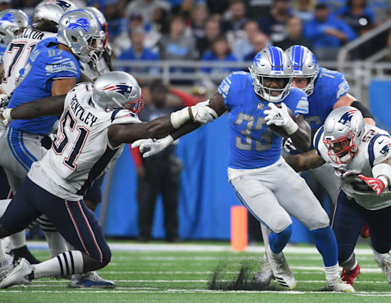 Lions' Kerryon Johnson completes impressive feat