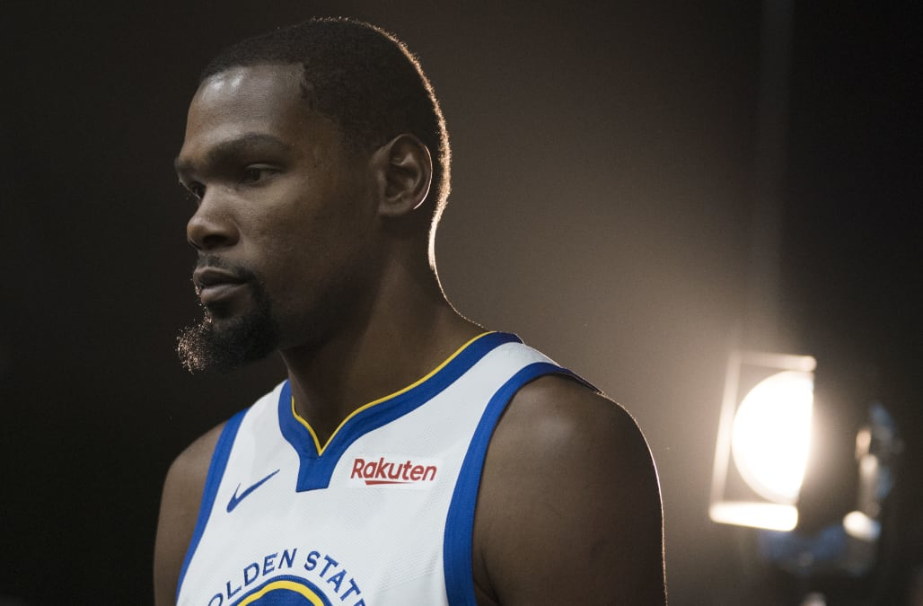 09c4df782c7c Kevin Durant bemoans media s  just pure hate for me