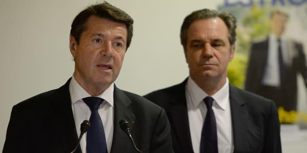 Christian Estrosi et Renaud Muselier en décembre 2015 à Marseille.