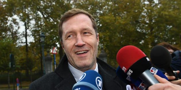 Paul Magnette à Bruxelles le 27 octobre 2016.