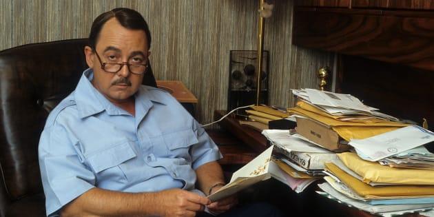 John Hillerman en 1982.